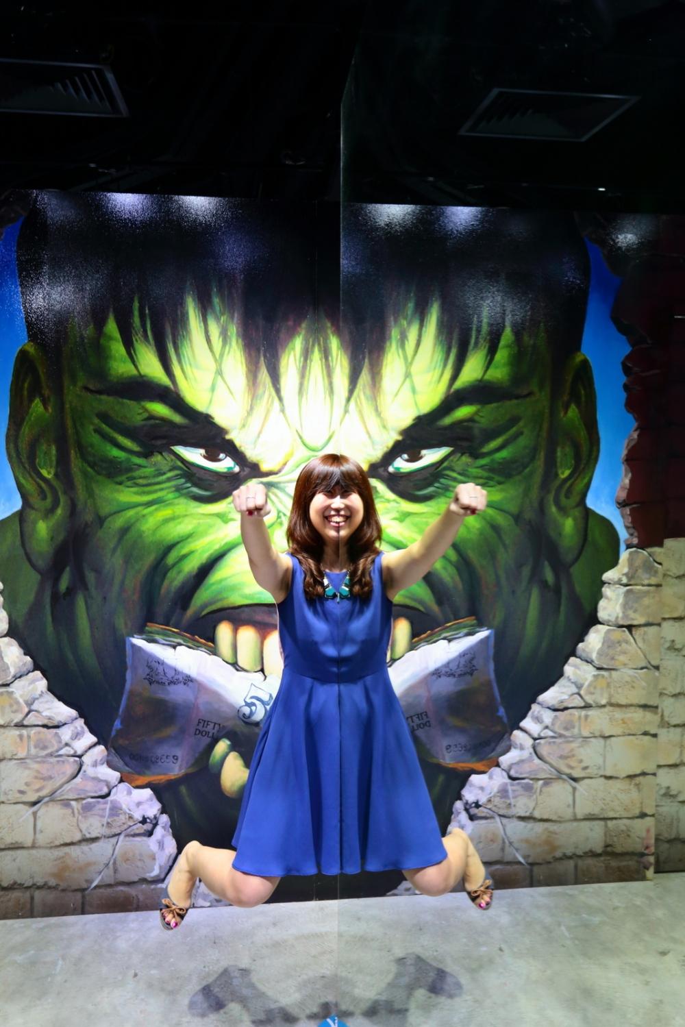 run from Hulk